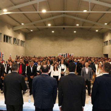 HDZ BiH ODRŽAO VELIČANSTVEN ZAVRŠNI SKUP U NOVOIZGRAĐENOJ SPORTSKOJ DVORANI U BRIŠNIKU