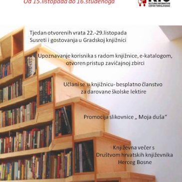 KIC TOMISLAVGRAD: Mjesec hrvatske knjige 2018.