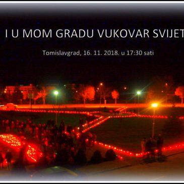 TOMISLAVGRAD ZA HEROJSKI GRAD: I u mom gradu Vukovar svijetli