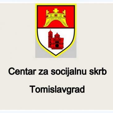 DJELATNICI CENTRA ZA SOCIJALNU SKRB: Zahvala donatorima za socijalno ugrožene obitelji povodom nastupajućih blagdana