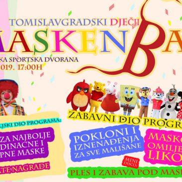 NAJAVA: Maskenbal u Tomislavgradu 27. veljače