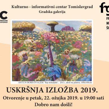 KIC TOMISLAVGRAD: Uskršnja izložba 2019.
