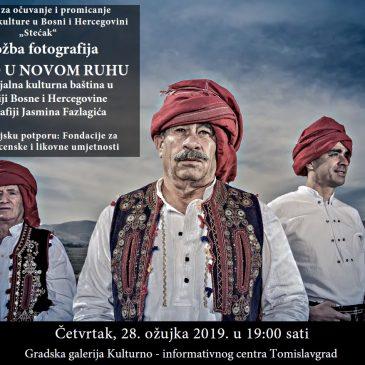 STARO U NOVOM RUHU: Nematerijalna kulturna baština u FBiH u fotografiji Jasmina Fazlagića