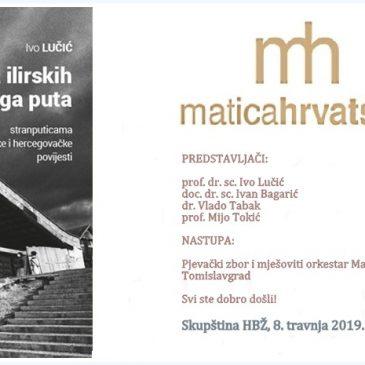 """NAJAVA: Predstavljanje knjige Ive Lučića """"Od vila ilirskih do Bijeloga puta"""" 8. travnja u Tomislavgradu"""