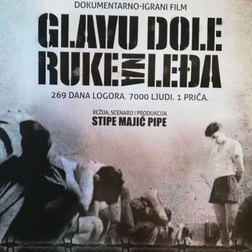 """NAJAVA: Igrano-dokumentarni film """"Glavu dole, ruke na leđa"""" u Tomislavgradu 15. travnja"""