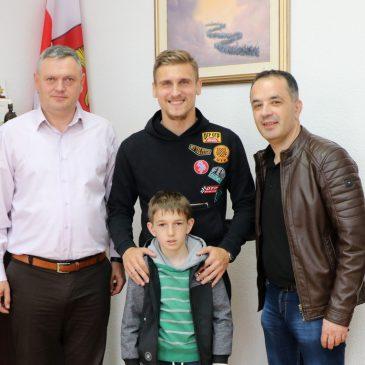 EMIR DILAVER I MATE TOKIĆ NA PRIJEMU KOD NAČELNIKA