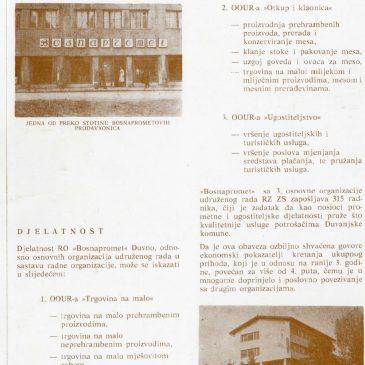 DUVANJSKI DANI KULTURE, 1978. godina, tri priloga: