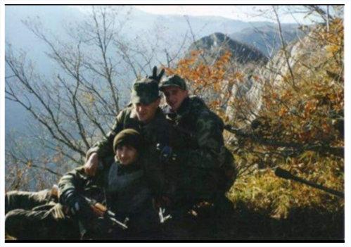 BORČANCI NA OKLANICI U RANO PROLJEĆE 1994.