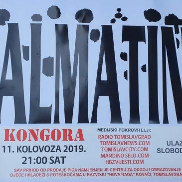 NAJAVA: Besplatan koncert Dalmatina u Kongori