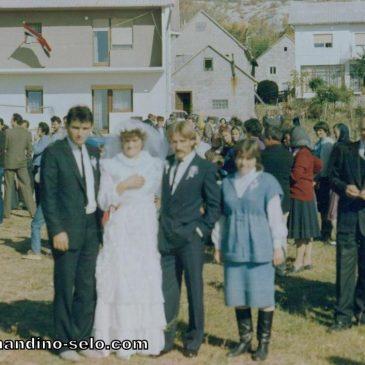 IZ ARHIVE: Veseli svatovi