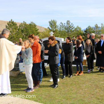 SVI SVETI I DUŠNI DAN: Raspored svetih misa na grobljima