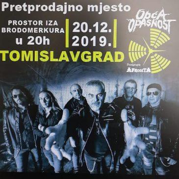 """OBAVIJEST IZ KIC-a: Gdje sve možete kupiti ulaznice za koncert """"Opće opasnosti"""""""