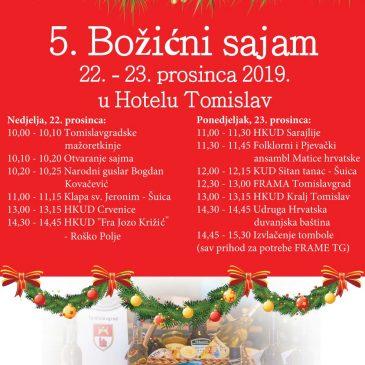 NAJAVA: 5. Božićni sajam u Tomislavgradu (22.-23. prosinca)