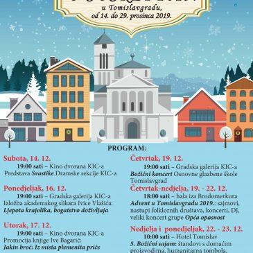 """NAJAVA: Program manifestacije """"Božiću u susret 2019."""""""