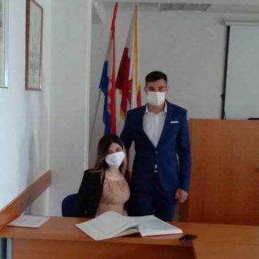 LJUBAV U DOBA KORONE: Vjenčali se Ana Vukadin i Mirko Tavra