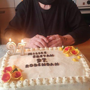 MILKA GALIĆ IZ KONGORE, NAŠA NAJSTARIJA ŽUPLJANKA, PROSLAVILA 97. ROĐENDAN