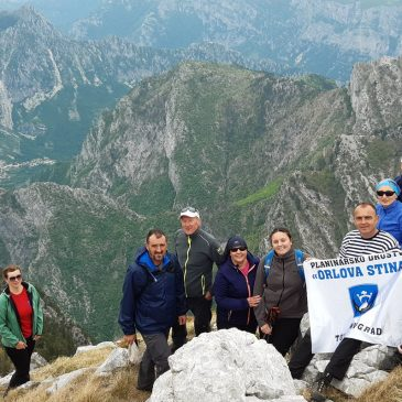 PD ORLOVA STINA: Uspon na Čabulju ili pomalo se vraćamo u planine