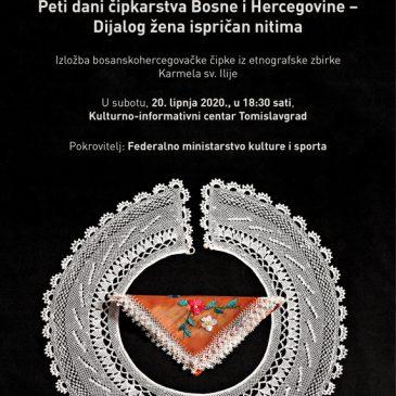 NAJAVA: Peti dani čipkarstva Bosne i Hercegovine – Dijalog žena ispričan nitima