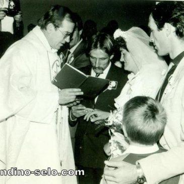IZ ARHIVE: Ljubičino i Ivanovo vjenčanje