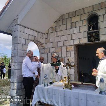 GORNJI BRIŠNIK: Na proslavi sv. Ilije kršten mali Ilija, deveto dijete obitelji Šarac