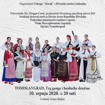UDRUGA STEĆAK: Pogledajte finalnu snimku 7. revije tradicijske odjeće i izbor najljepše Hrvatice u narodnoj nošnji izvan RH