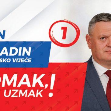 PREDSTAVLJAMO KANDIDATE: Ivan Vukadin, nositelj liste Hrvatskog nacionalnog pomaka za OV Tomislavgrad