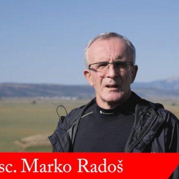 PROF. DR. SC. MARKO RADOŠ: Glasajmo za Ivana Buntića i Hrvatski nacionalni pomak