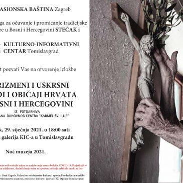"""NAJAVA: Izložba """"Korizmeni i uskrsni obredi i običaji Hrvata u BiH"""""""