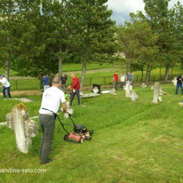 NAJAVA: U srijedu, u 18 sati, kosimo travu na groblju