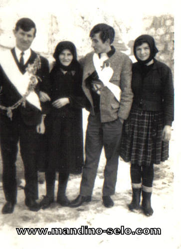 IZ ARHIVE: Svatovi Vinka Džankušića 1967.