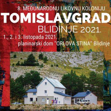 NAJAVA: 8. međunarodna likovna kolonija Tomislavgrad – Blidinje 2021.
