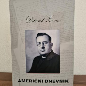 "DANAS U 19 SATI: Predstavljanje knjige ""Američki dnevnik"" dr. fra Davida Zrne"
