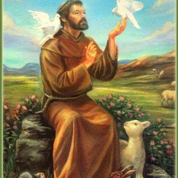 4. LISTOPADA: Sv. Franjo Asiški