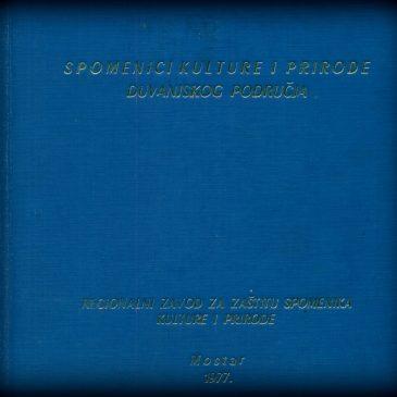 SPOMENICI KULTURE I PRIRODE DUVANJSKOG PODRUČJA (37): Mesihovina