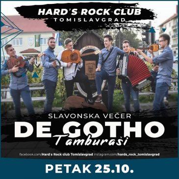 NAJAVA: U petak Slavonska večer u Hard's rock clubu