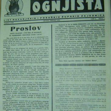 IZ ARHIVA NAŠIH OGNJIŠTA: srpanj 1971., god I., broj 1., str. 9