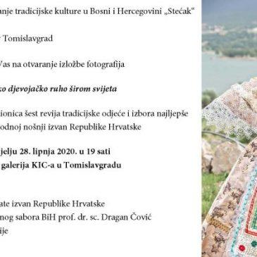 """NAJAVA: Izložba fotografija """"Hrvatsko djevojačko ruho širom svijeta"""""""