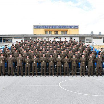 ZAGREB: Svečana prisega 18. naraštaja kadeta Hrvatske vojske, među njima i Bože Jolić iz Kongore