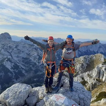 SLAVO ŠUMANOVIĆ I ILIJA BABIĆ NA PRENJSKOM VRHU OSOBAC (2034 m)