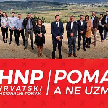 PRIOPĆENJE Hrvatskog nacionalnog pomaka povodom izborne pobjede na lokalnim izborima u Tomislavgradu