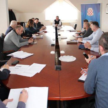 VLADA HBŽ: Radni sastanak na temu razvojni projekti HBŽ i prekogranična suradnja