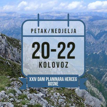 HPD PRENJ: Poziv na XXIV. Dane planinara Herceg-Bosne