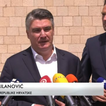 RTV HB: Zoran Milanović u Tomislavgradu razgovarao s načelnikom i posjetio samostan i muzej