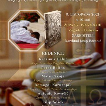ZAGREB: U subotu đakonsko ređenje Mate Cikoje