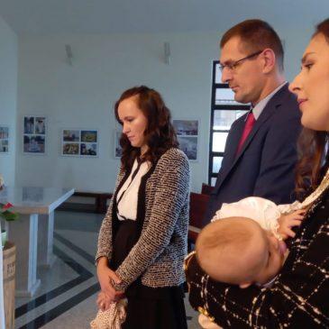 ZAGREB: Krštena Lucija Šarac